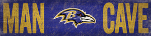 Baltimore Ravens Man Cave Sign
