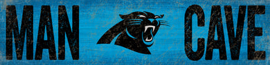 Carolina Panthers Man Cave Sign