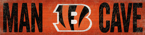 Cincinnati Bengals Man Cave Sign