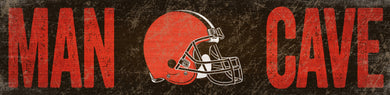 Cleveland Browns Man Cave Sign