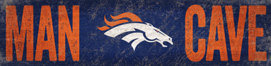 Denver Broncos Man Cave Sign