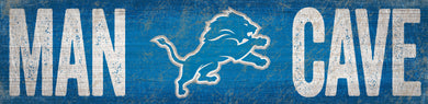 Detroit Lions Man Cave Sign