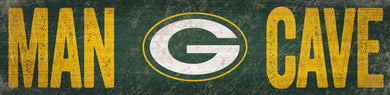 Green Bay Packers Man Cave Sign