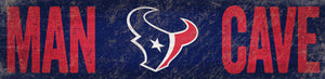 Houston Texans Man Cave Sign