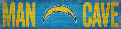 Los Angeles Chargers Man Cave Sign