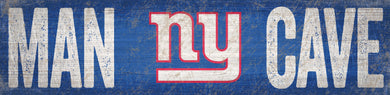 New York Giants Man Cave Sign