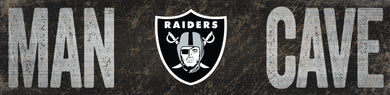 Oakland Raiders Man Cave Sign
