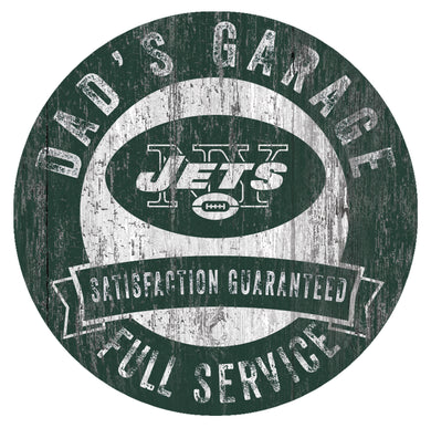 New York Jets Dad's Garage Sign