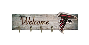 "Atlanta Falcons Coat Hanger - 24""x6"""