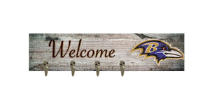 "Baltimore Ravens Coat Hanger - 24""x6"""