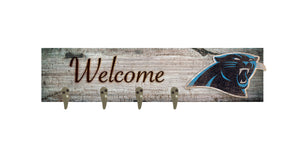 "Carolina Panthers Coat Hanger - 24""x6"""