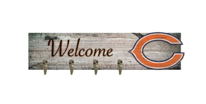 "Chicago Bears Coat Hanger - 24""x6"""