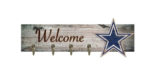 "Dallas Cowboys Coat Hanger - 24""x6"""