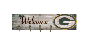 "Green Bay Packers Coat Hanger - 24""x6"""