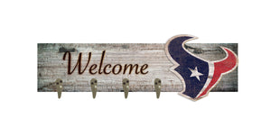 "Houston Texans Coat Hanger - 24""x6"""