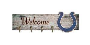 "Indianapolis Colts Coat Hanger - 24""x6"""