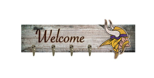 "Minnesota Vikings Coat Hanger - 24""x6"""