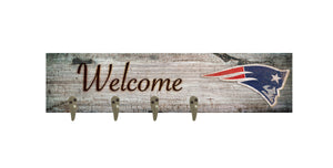 "New England Patriots Coat Hanger - 24""x6"""