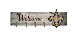 "New Orleans Saints Coat Hanger - 24""x6"""