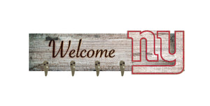 "New York Giants Coat Hanger - 24""x6"""