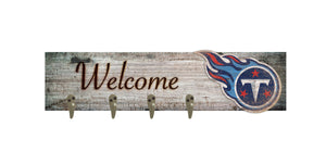 "Tennessee Titans Coat Hanger - 24""x6"""