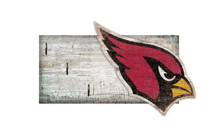 "Arizona Cardinals Key Holder 6""x12"""