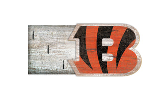 "Cincinnati Bengals Key Holder 6""x12"""
