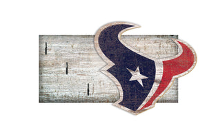 "Houston Texans Key Holder 6""x12"""