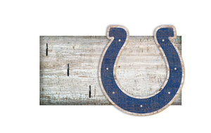 "Indianapolis Colts Key Holder 6""x12"""