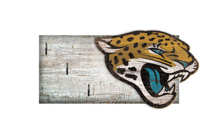 "Jacksonville Jaguars Key Holder 6""x12"""