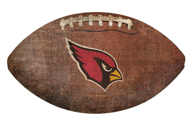 Arizona Cardinals Football Shaped Sign