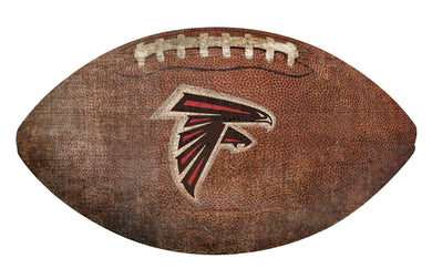 Atlanta Falcons Football Shaped Sign -12