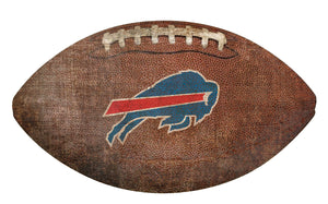 Buffalo Bills Football Shaped Sign