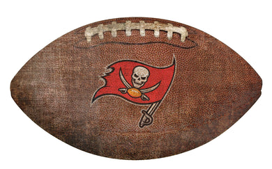 Tampa Bay Buccaneers Football Shaped Sign