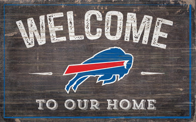 Buffalo Bills Welcome To Our Home Sign - 11