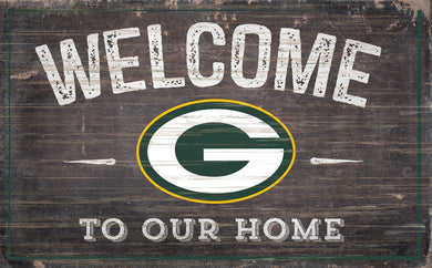 Green Bay Packers Welcome To Our Home Sign - 11