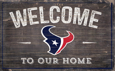 Houston Texans Welcome To Our Home Sign - 11