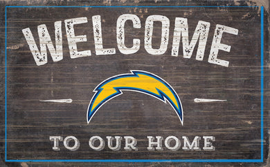 Los Angeles Chargers Welcome To Our Home Sign - 11