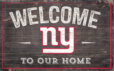 New York Giants Welcome To Our Home Sign - 11