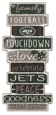 New York Jets Celebrations Stack Wood Sign -24