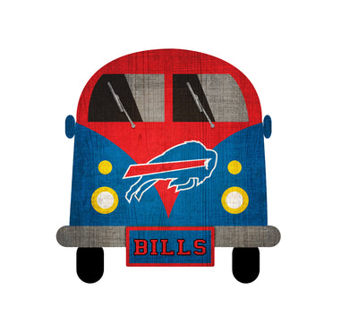 Buffalo Bills Team Bus Sign