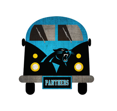 Carolina Panthers Team Bus Sign