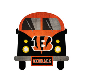 Cincinnati Bengals Team Bus Sign