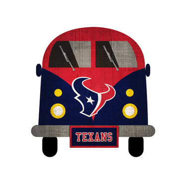 Houston Texans Team Bus Sign