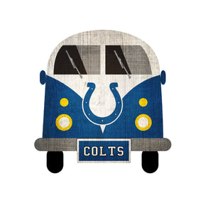 Indianapolis Colts Team Bus Sign