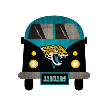 Jacksonville Jaguars Team Bus Sign