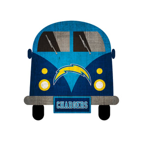 Los Angeles Chargers Team Bus Sign