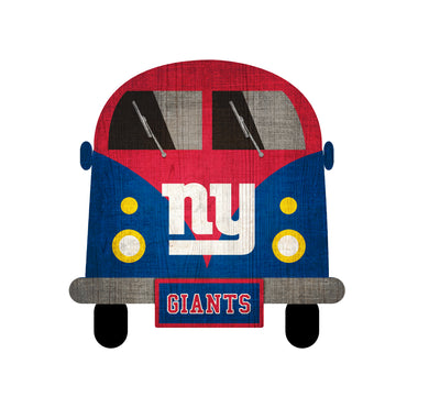 New York Giants Team Bus Sign