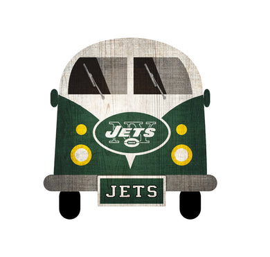 New York Jets Team Bus Sign