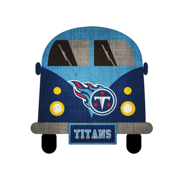 Tennessee Titans Team Bus Sign